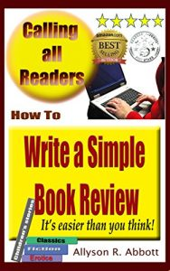 Write a simple Book Review