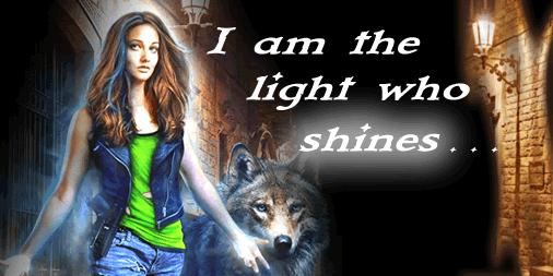 I am the light who shines...