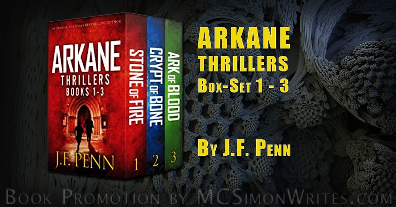 ARKANE Thrillers Box-Set 1 - 3: Stone of Fire, Crypt of Bone, Ark of Blood