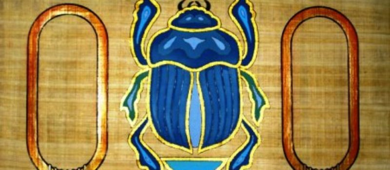 Amulets, Scarabs and Crystals