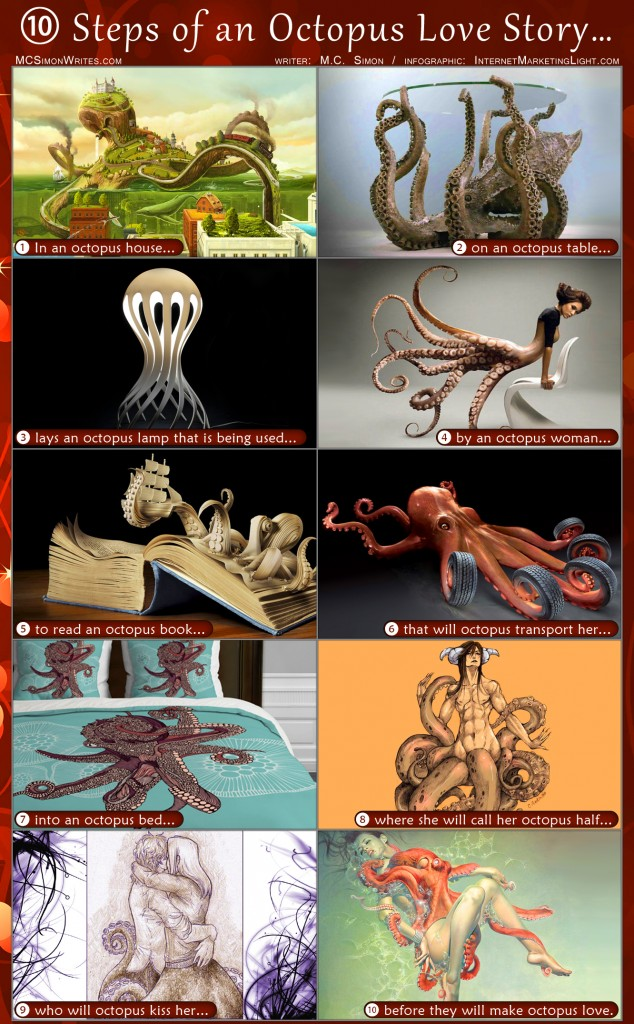 10 Steps of an Octopus Love Story