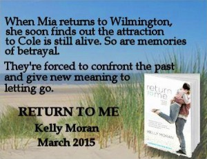Return To Me - Kelly Moran - March 2015