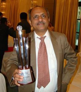 Indian poet Vishwas Vaidya