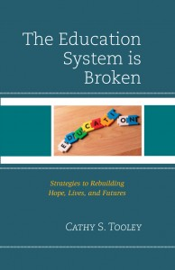 the education system is broken cover