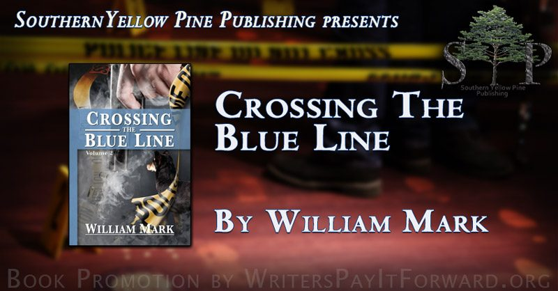crossing the blue line banner