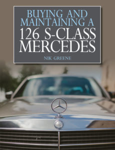 buying and maintaining a mercedes w126 cover
