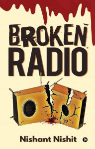broken radio cover