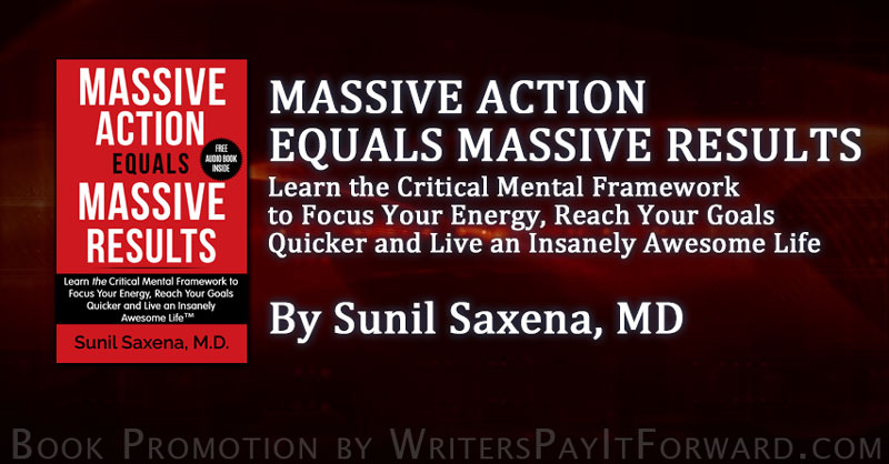 Massive Action Equals Massive Results banner