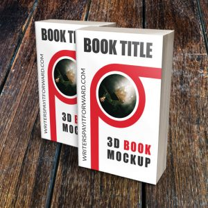 3D Book Mockup Paperback 4.25x7