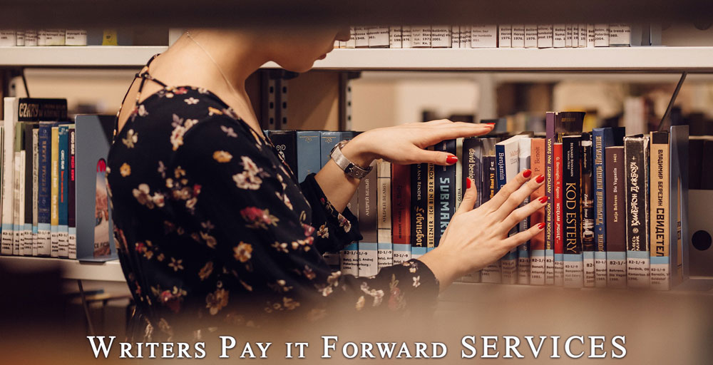 Writers Pay it Forward Services