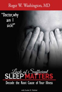 Lack of Sufficient SLEEP MATTERS cover