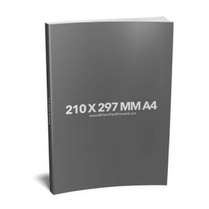 Book Mockup - Paperback 210x297x19-PBNR1-21