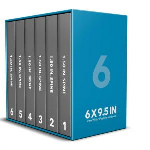 Book Mockup - Boxset 6x9.5x1.5-BSKN1-6