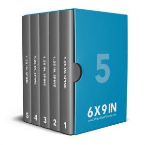 Book Mockup - Boxset 6x9x1.25-BSAJ1-5