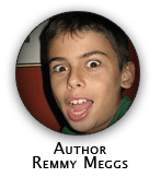 Author Remmy Meggs