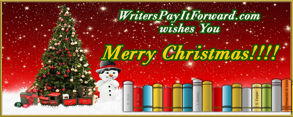 WritersPayItForward.com wishes you Merry Christmas!!!!