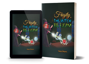 Frigity, the Witch Big Exam - Witches Book Read